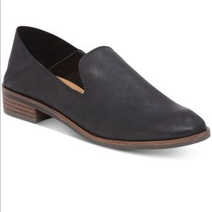Lucky Brand Black Leather Cahill Flats. NEW 7 1/2